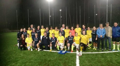 F 2 26 ottobre 2019 Civita Castellana le due squadre partecipanti .jpg