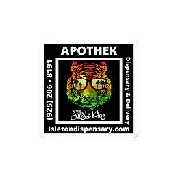 Apothek Bubble-free stickers