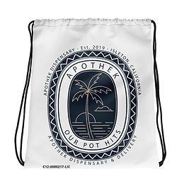 Apothek Drawstring bag