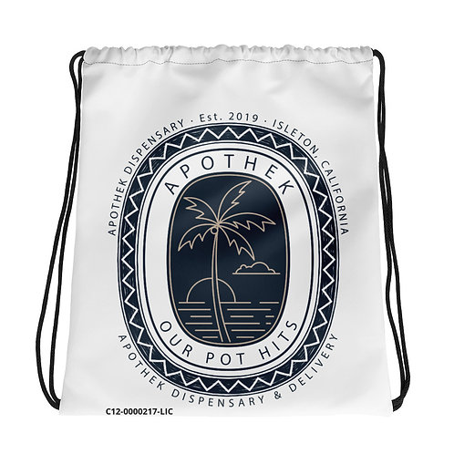 Apothek Drawstring bag