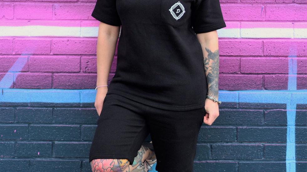 women's t shirt & short set
