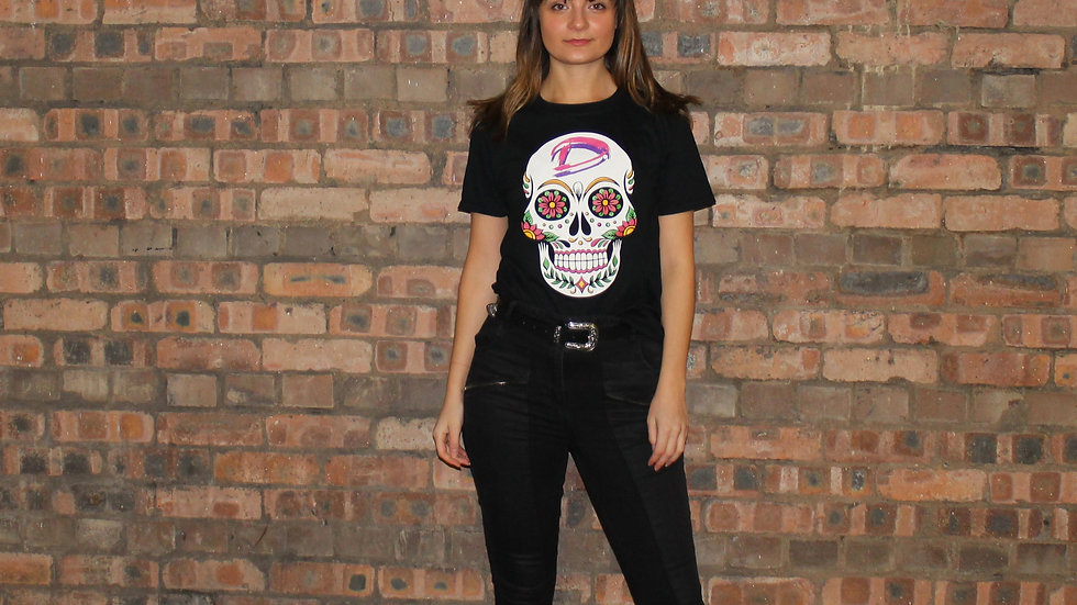 Womens Sugar Skull T-shirt