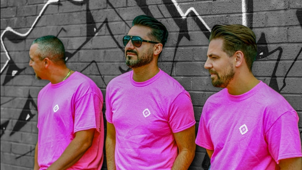 DanDan Neon Pink  Solo Collection T Shirt
