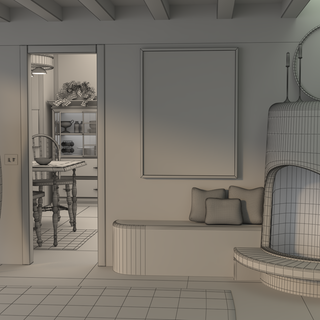 Southwest Room Wireframe