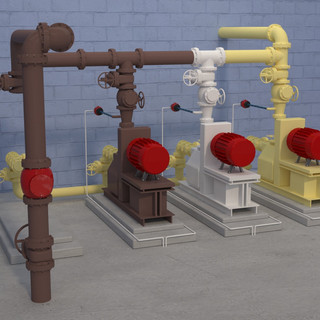 Waste Activated Sludge Pump Station