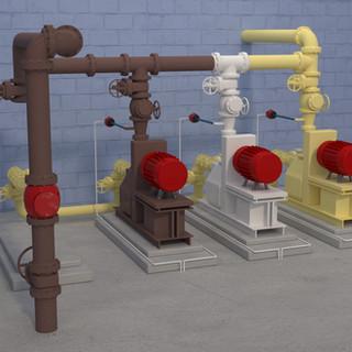 Waste Activated Sludge Pump Station