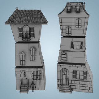 Modular Buildings Wireframe