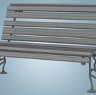 Bench Wireframe