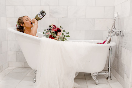 Bathtub Bride Living it up in her hot pink Converse kicks! at Blackstone Rivers Ranch