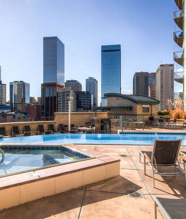 Downtown Denver Penthouse, CO Skyline