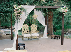 Wedding Ceremony Site on the River at Blackstone Rivers Ranch