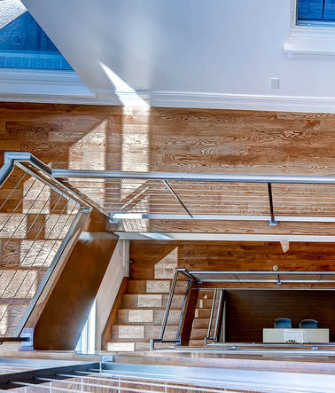 Modern Stairway | Cherry Creek North Denver, CO
