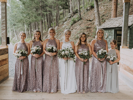 GLITZIEST BRIDESMAIDS DRESSES