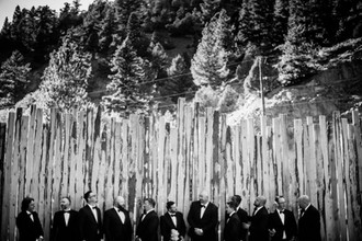 Grooms Day Wedding Party at Blackstone Rivers Ranch