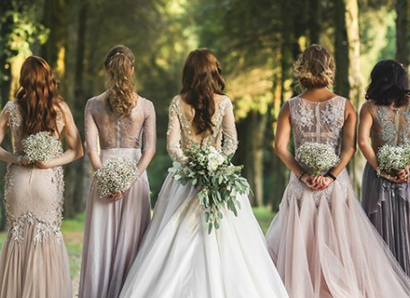 YOUR BRIDESMAIDS ARE BOHO BEAUTIES ON YOUR WEDDING DAY!