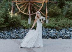 Idaho Springs Bridal Veil Falls for Blackstone Rivers Ranch Wedding (5 minutes away in town)