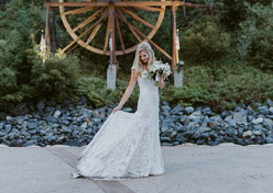 Idaho Springs Bridal Veil Falls for Blackstone Rivers Ranch Wedding (5 minutes away in town)