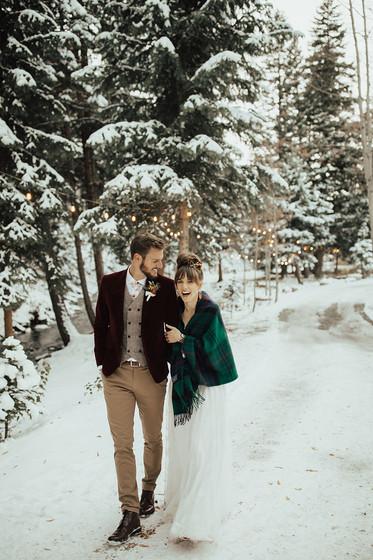Stunning Winter Wedding at Blackstone Rivers Ranch
