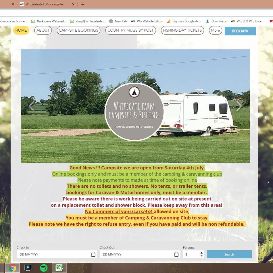 Home Page (desktop)