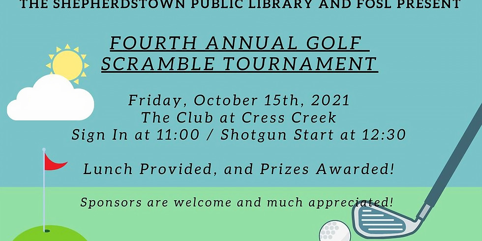 4th Annual Golf Scramble Tournament