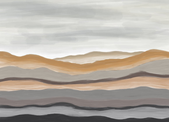 Molten - Digital Print
