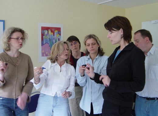 Gruppenbild mit Stiften 2003