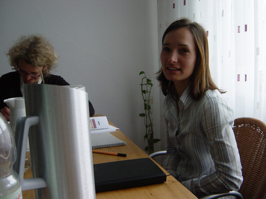 Juliane und Andrea 2003