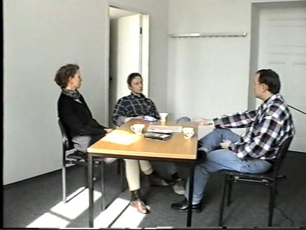 Juliane, Rainer und Uwe 1998