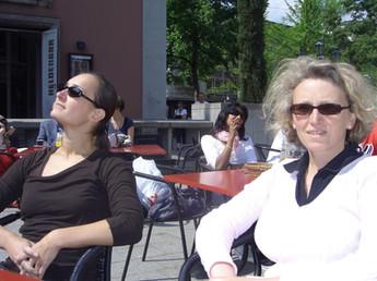 Andrea und Jule 2009