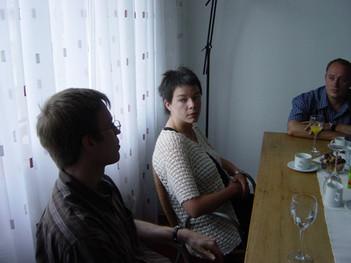 Thomas, Kerstin und Uwe 2003
