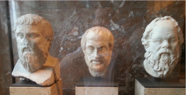 Pic Photo The great philosophers Louvre