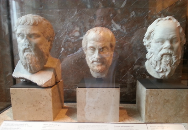 Photo The great philosophers Louvre .png