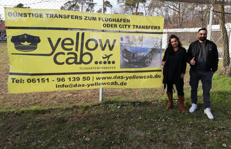 """Yellow Cab"" neuer Förderer!"