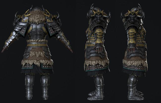NorseWarrior-3D-model-back-by-namson-dig