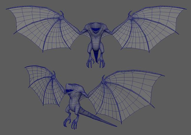 bat-creaturet-low-poly-by-namson-digital