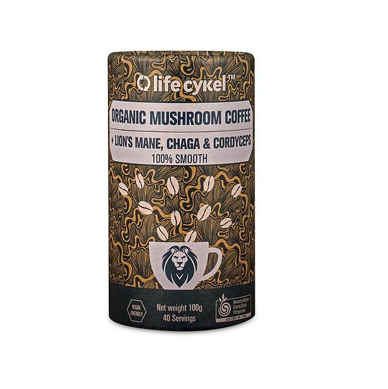 LIFECYKEL ORGANIC MUSHROOM COFFEE 100g