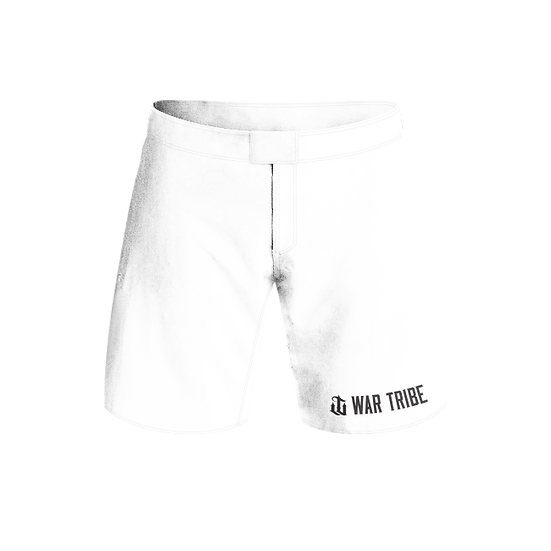 WARTRIBE ADULT GRAPPLING SHORTS COMP STANDARD WHITE