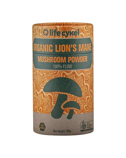 LIFECYKEL LION'S MAN MUSHROOM POWDER 100g
