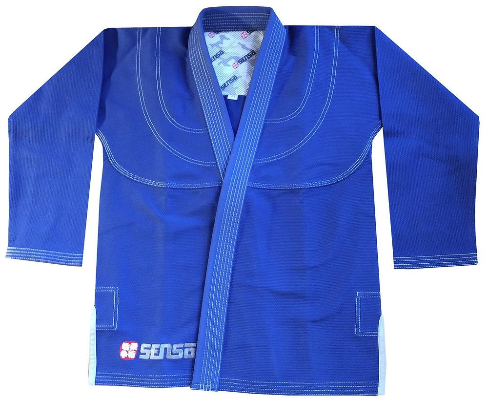 Senso BJJ jiu jitsu blue gi kids and adults