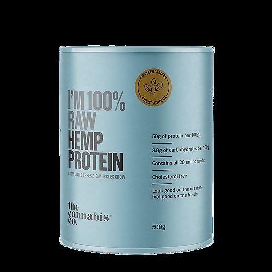 CANNABIS CO 100% RAW HEMP PROTEIN 500g
