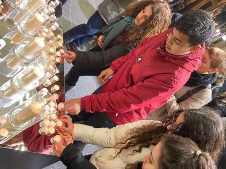 Acte commemoratiu de les víctimes de l'Holocaust
