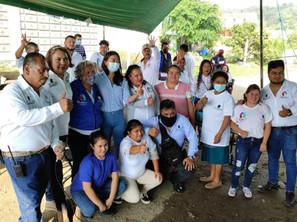 Llama Alma Reyes a la unidad y hará consultas ciudadanas en Atlatlahucan.