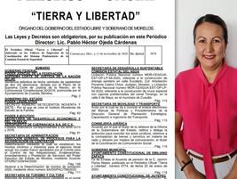 Celebra Dip. Dalila Morales Sandoval que en el 2021 inicie el Instituto de Estudios de la Familia
