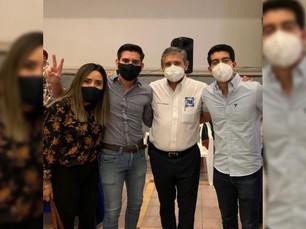 Urióstegui se compromete a apoyar a jóvenes emprendedores de Cuernavaca