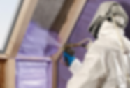 Spray Foam Insulation | Tyvek Suit | Attic Rafter| PPE | DeChant Building Performance