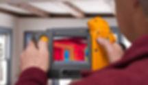 hand held thermal scanner color screen   DeChant Building Performance