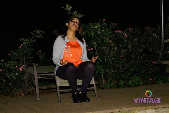 B2B2018 Alexia Meditating
