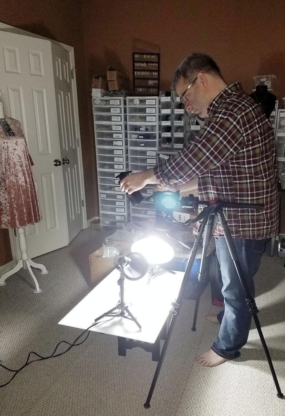 Behind the Scenes Photoshoot Alpharetta, GA