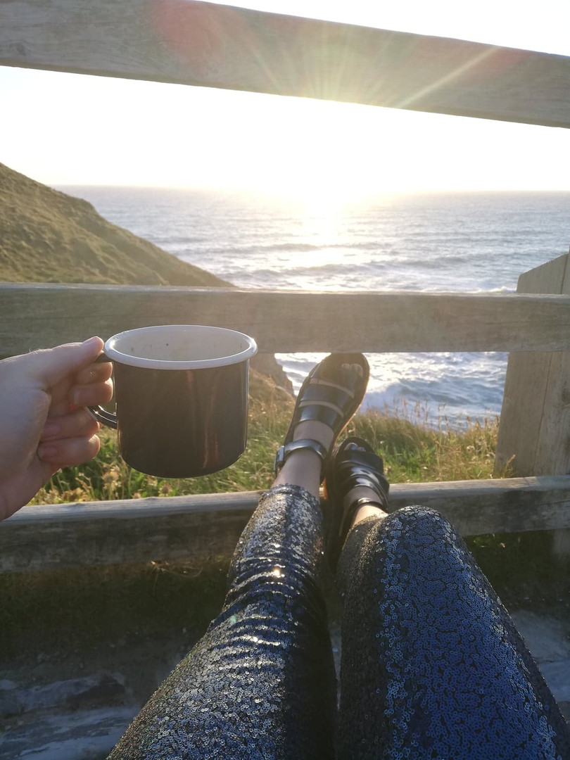 Cofee and a view
