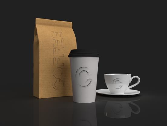 Minimalist's Coffee Shop